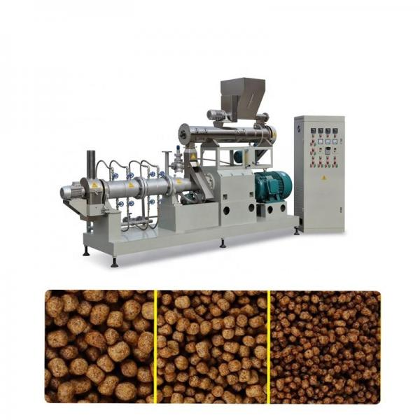 Stainless Steel Animal Feed Floating Fish Feed Extruder Machine