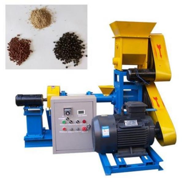 Complete Automatic Fish Food Production Line / Catfish Feed Extruder