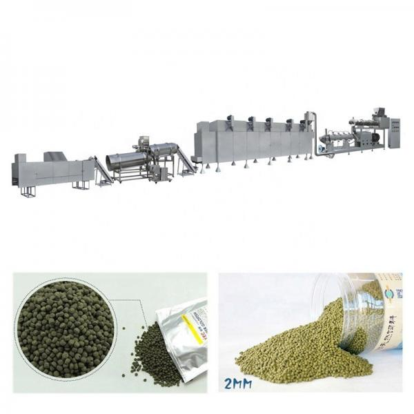 Floating Fish Feed Extruder/Pet Feed Extrusion Machine