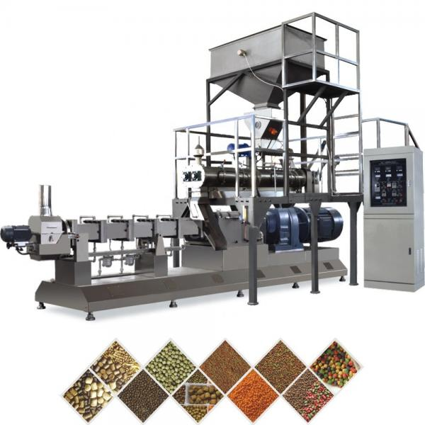Fish Farmer Hot Used Fish Feed Pellet Production Extruder Plant Machine