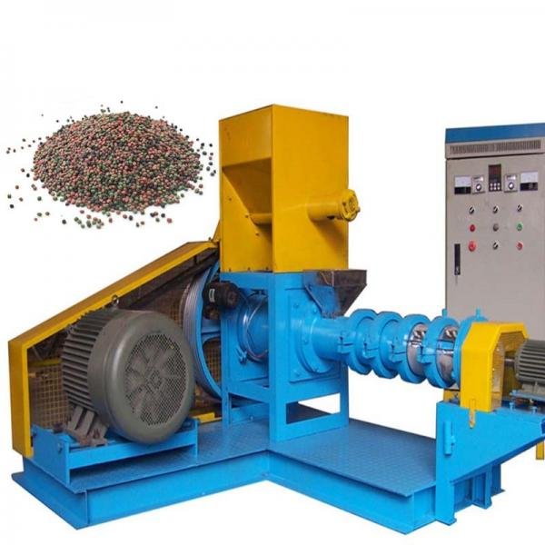 Automatic High Quality Dry Type Floating Fish Feed Pellet Extruder Machine From China
