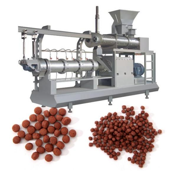 1-2tph Complete Animal Feed Machine and Fish Food Machine Production Line Including Pellet Machine as Granulator, Extruder, Grinding Machine