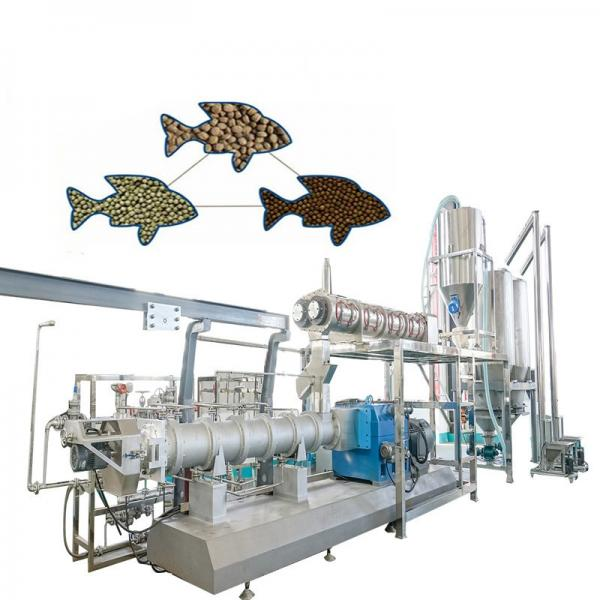 China Poultry Floating Fish Animal Feed Pellet Making Machine