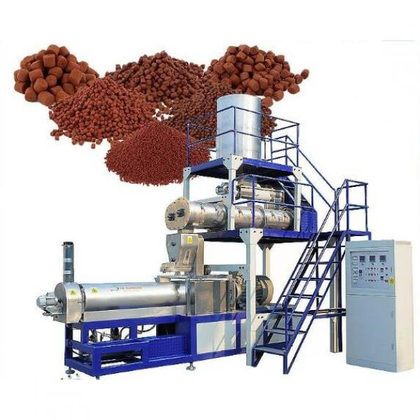 Steam Conditioner Animal Fish Sheep Feed Crusher and Mixer Extruder Pellet Pelleting Press Block Making Machine