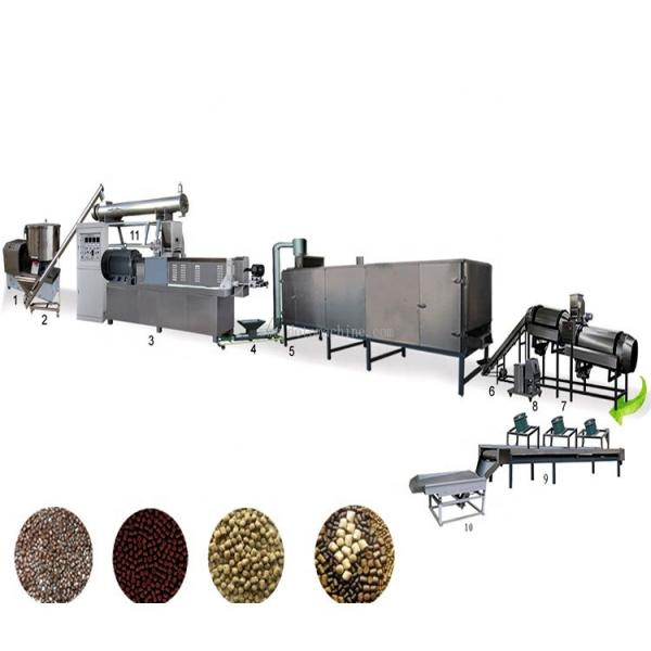 Automatic Twin Screw Fish Feed Pellet Making Machine Price